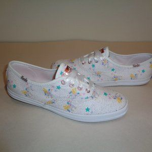 Keds Size 7.5 SUNNYLIFE UNICORN New White Sneakers
